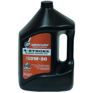 Mercury 4-Cycle Outboard Oil - 10W-30 1 Gallon - 92-8M0078626