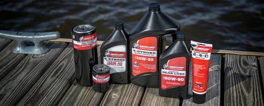 , Precision Oil & Lubricant Guide, Oil by Mercury